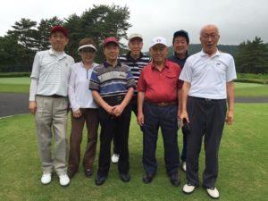 2016年7月 ゴルフコンペ